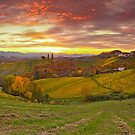 Styrian Hills Panorama by Delfino