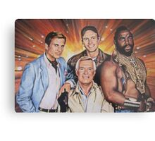 The A Team fanart Metal Print