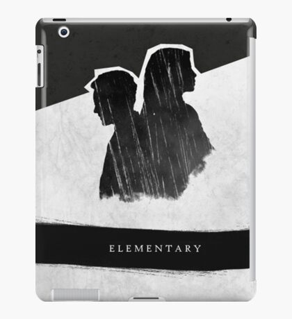 Elementary Profile Shadow Poster iPad Case/Skin
