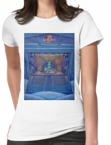 Firefly Christmas on Serenity Womens Fitted T-Shirt