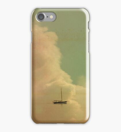 Once Upon a Time a Little Boat iPhone Case/Skin