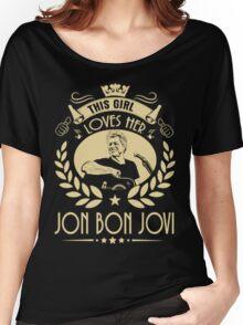 This girl love Bon Jovi Women's Relaxed Fit T-Shirt