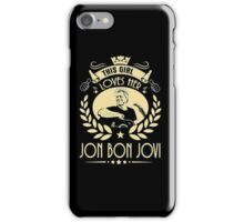 This girl love Bon Jovi iPhone Case/Skin