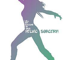 Gamora - I Will Not Succumb to your Pelvic Sorcery! by Maxmanax