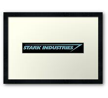 Stark Industries Framed Print