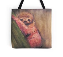Baby Red Sloth Tote Bag