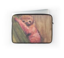 Baby Red Sloth Laptop Sleeve