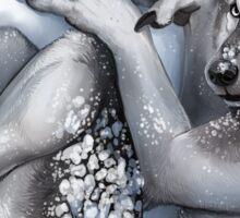 Winter Werewolf Sticker