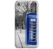 Dr. Who Walks Away iPhone Case/Skin