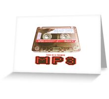 MP3 Greeting Card