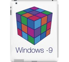 Windows -9 iPad Case/Skin