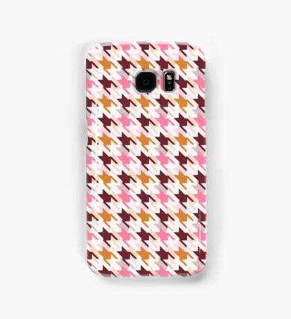 Houndstooth pattern.  Samsung Galaxy Case/Skin