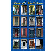 Doors of New Orleans Photographic Print