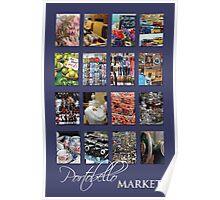 Portobello Market (Purple) Poster