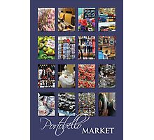 Portobello Market (Purple) Photographic Print