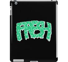 fresh green on black iPad Case/Skin