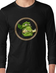 Warcraft 3 - Peon (WC3) Long Sleeve T-Shirt