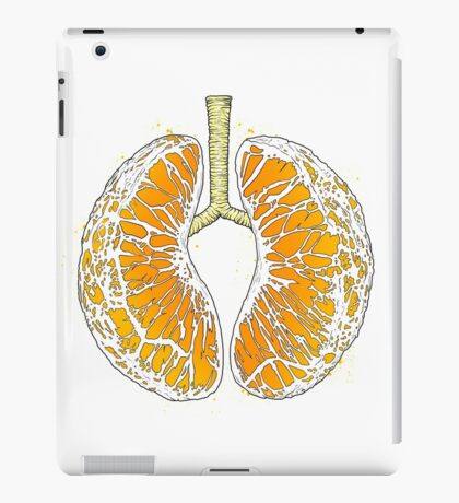 citrus lungs iPad Case/Skin