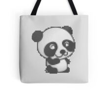 knitted sweater panda Tote Bag