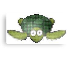 knit turtle Canvas Print