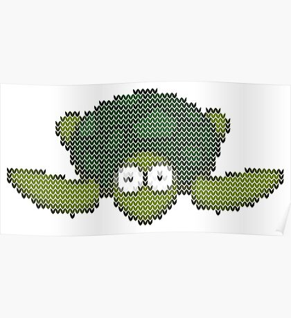 knit turtle Poster