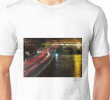 Light Flow To Pont Notre-Dame ©  Unisex T-Shirt