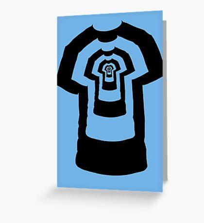 Shirtception Greeting Card