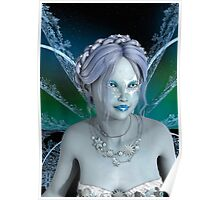 Winter Fairy Poster