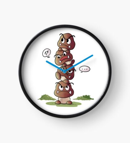 Goomba tower Clock