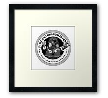 Bruce Lee & Ip Man Collaboration Framed Print