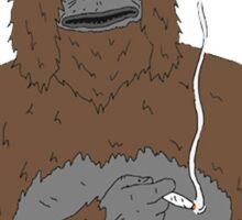 Sassy the Sasquatch what you talking about  Sticker
