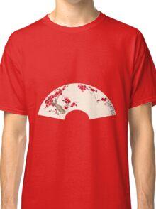 Plum Blossom In Fan Classic T-Shirt
