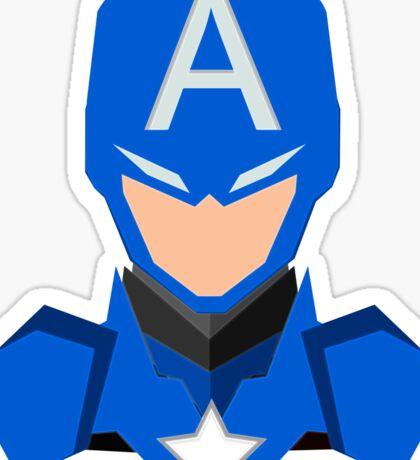 Capitan America Sticker