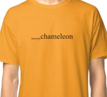 A sort of Rick-rolling, but Boyish. Classic T-Shirt