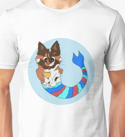 Tilly the Tortie Purmaid Unisex T-Shirt