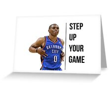 Russell Westbrook OKC (suyg) Greeting Card