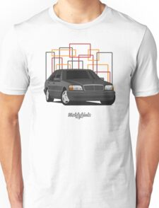 Mercedes-Benz S600 (W140) (black) Unisex T-Shirt