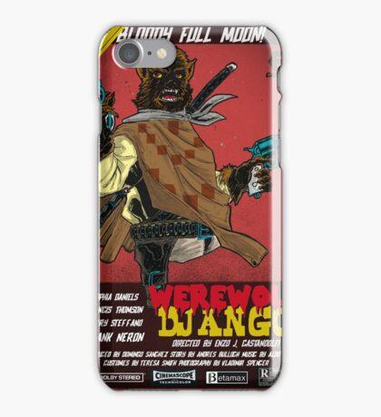 WEREWOLF DJANGO iPhone Case/Skin