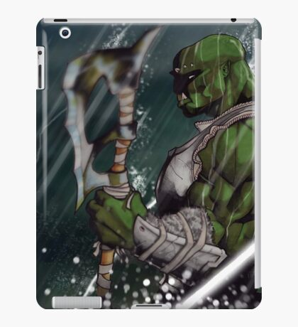 Standing with the Storm iPad Case/Skin