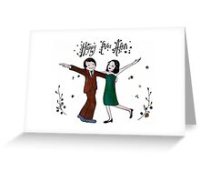Wedding Invitations / Cards - Hand Painted Design Greeting Card