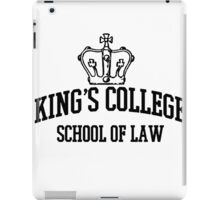 Kings College iPad Case/Skin