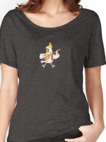 Aussie Cockatoo Women's Relaxed Fit T-Shirt