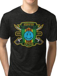 Watchmen - Nam Patch (embroidered) v2 Tri-blend T-Shirt