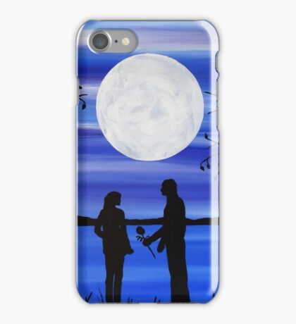 Art of love, romantic painting iPhone Case/Skin