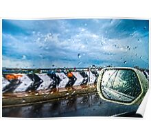 Indian Monsoon Rear view Poster