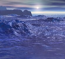 Frozen Sea of Neptune by Phil Perkins