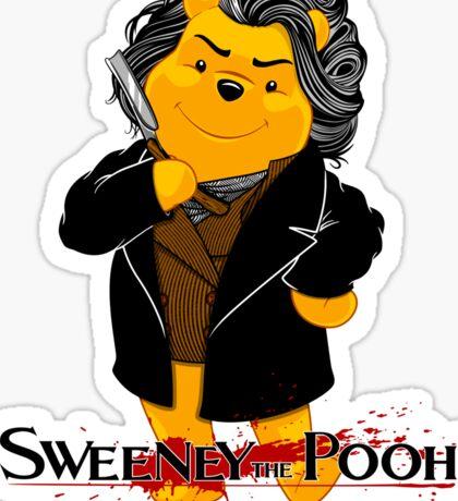 Sweeney the Pooh. Sticker