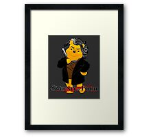 Sweeney the Pooh. Framed Print