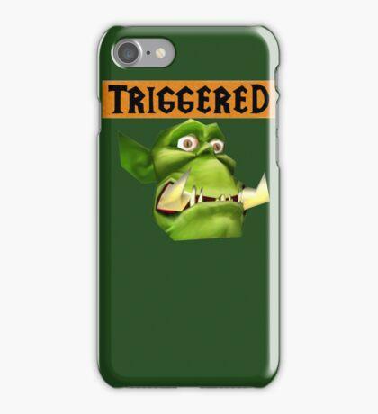 TRIGGERED Peon (Warcraft) iPhone Case/Skin