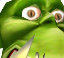 TRIGGERED Peon (Warcraft) Sticker